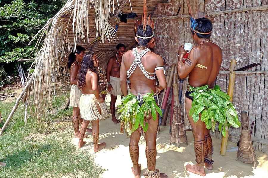 Índios na amazônia