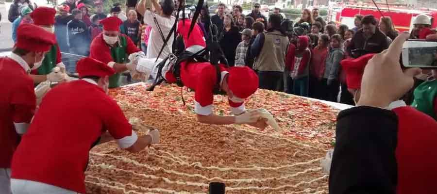 Dia da Pizza - Maior pizza do Brasil