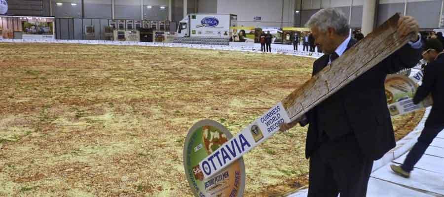 Dia da Pizza - Maior pizza do mundo