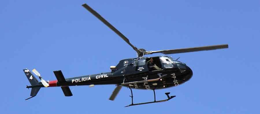 Helicóptero da Polícia Civil